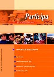 participa peru presupuesto participativo - Grupo Propuesta Ciudadana
