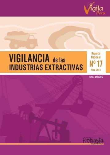 Reporte Nacional 17: Vigilancia de las Industrias Extractivas - Grupo ...