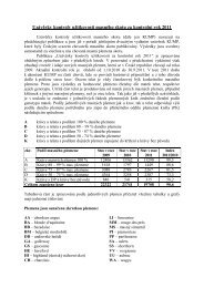 Uzávěrky kontroly užitkovosti masného skotu ( dále jen KUMP ...