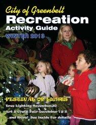 Recreation Brochure - Greenbelt CityLink