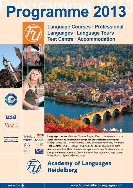 Language Tours Test Centre - F+U Academy of languages