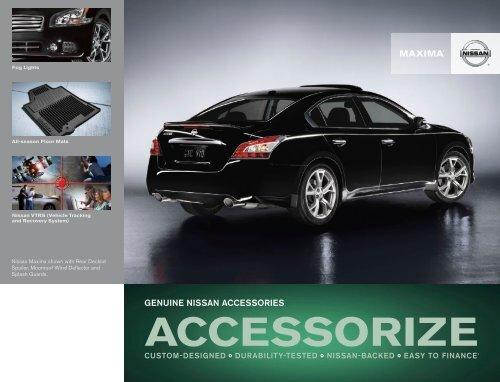 Nissan Maxima | Accessories Brochure | Nissan USA