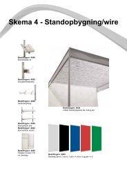 Skema 4 - Standopbygning/wire - Messe C