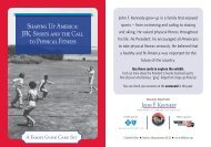 Sports Exhibit Family Guide - John F. Kennedy Library and Museum