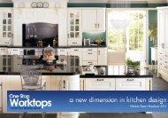 One Stop Worktops - Kitchen Door Brochure 2015