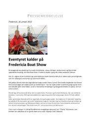 Eventyret kalder på Fredericia Boat Show - Messe C