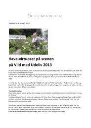 Have-virtuoser på scenen på Vild med Udeliv 2013 - Messe C