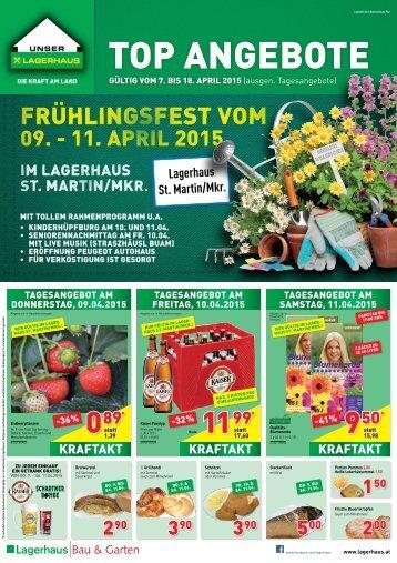 Lagerhaus Frühlingsfest 2015