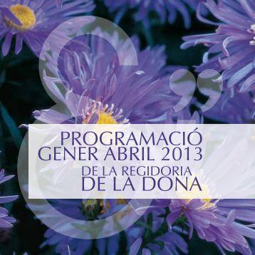 Programació Dona 2013 - Ajuntament de Vila-real