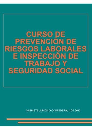 curso de prevención de riesgos laborales e ... - In-formación