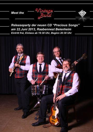 "Meet the Releaseparty der neuen CD ""Precious ... - ocw-online.de"
