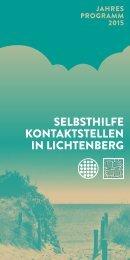 SELBSTHILFE KONTAKTSTELLEN IN LICHTENBERG