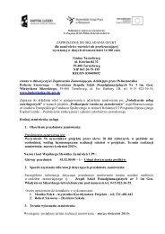 Zapytanie ofertowe nr 12 - Zespół Szkół Ponadgimnazjalnych nr 3