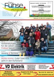 Fuhse-Magazin 6/2015