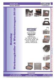 Katalog Werkzeugkoffer & Werkstattwagen 2015