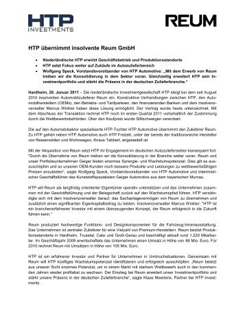 Htp Gmbh 6 free magazines from htp investments com