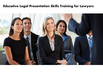 Legal Presentation Skills Training