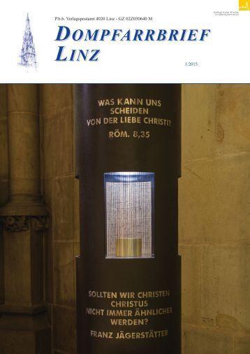 Dompfarre Linz - Pfarrbrief 2015-01
