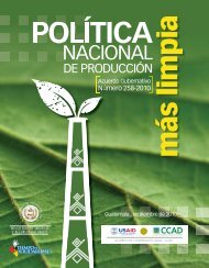 Política Nacional de Producción Más Limpia - Segeplan