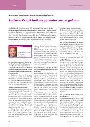 Seltene Krankheiten gemeinsam angehen - Orphanbiotec Foundation
