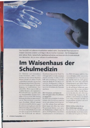 Interview Nr. 1, Nov. 2010