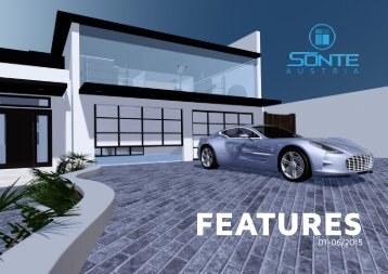 SONTE - PRODUCT FEATURES