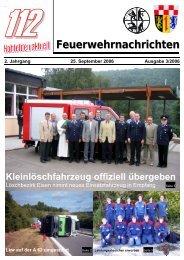 Feuerwehrnachrichten Ausgabe 03-2006 - Neunkirchen, Nahe