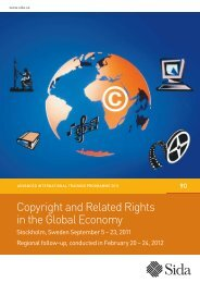 Copyright and Related Rights in the Global Economy