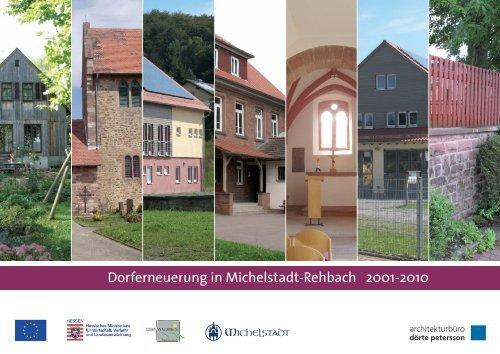 Dorferneuerung in Michelstadt-Rehbach 2001-2010