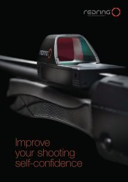 Improve your shooting self-confidence - Redring