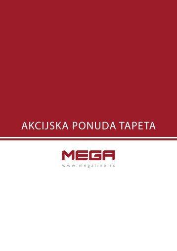 Tapete na akciji - MEGA