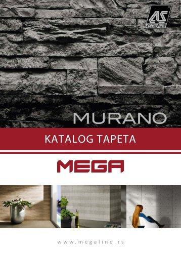 Murano kolekcija tapeta - MEGA