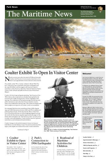 Coulter Exhibit To Open In Visitor Center - National Park Service