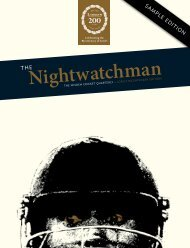 The Nightwatchman - Issue 6 - Sample edition