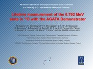 Lifetime measurement of the 6.79 MeV state in 15 O with the AGATA ...