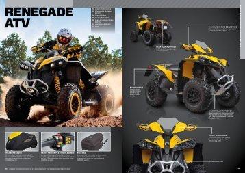 RENEGADE ATV - Allrad Horn