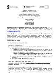 Zapytanie ofertowe nr 13 - Zespół Szkół Ponadgimnazjalnych nr 3
