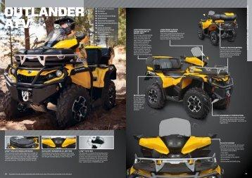 OUTLANDER ATV - Allrad Horn