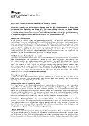 Jahreskonzert 03.02.2001 - Musikverein Eintracht Hoengg