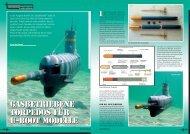 Gasbetriebene Torpedos für U-Boot Modelle Gasbetriebene ...