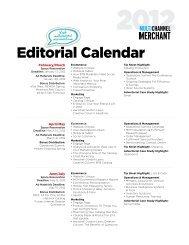 Editorial Calendar - Multichannel Merchant