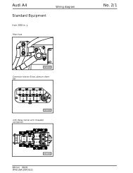 Audi A4 No. 2/1 Wiring Diagram - SoCalS4.com