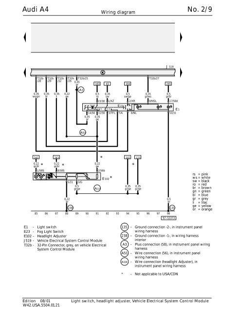 audi a4 no  2/1 wiring diagram - socals4 com