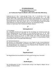 Studienordnung_LA_Gy.. - Naturwissenschaftliche Fakultät II ...