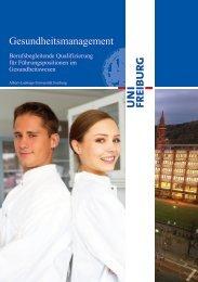 Schnellzugriff - Weiterbildung - Albert-Ludwigs-Universität Freiburg