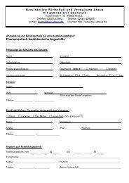 Pharmazeutisch-kaufmännische Angestellte - Berufskolleg ...