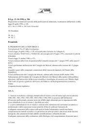 Decreto Legislativo 13 ottobre 1998, n.386 - Ordine dei Medici di ...