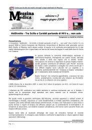 edizione n.3 maggio-giugno 2009 - Ordine dei Medici di Messina