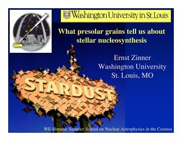 What presolar grains tell us about stellar nucleosynthesis
