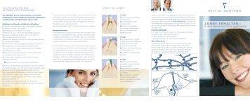 ZÄHNE ERHALTEN – - Praxis für Zahnheilkunde